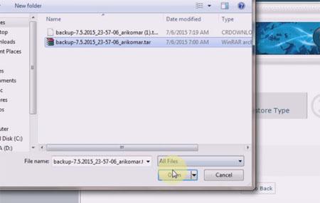 cara backup website wordpress di cpanel13