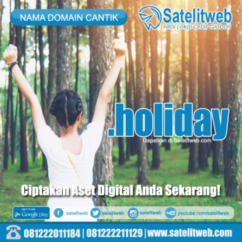 nama domain murah dot holiday