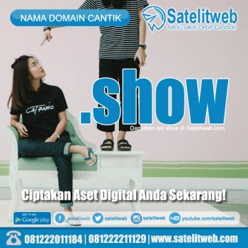nama domain dot show