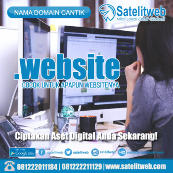 nama domain dot website