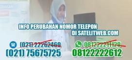 Pengumuman: Penggantian Nomor Telepon di Satelitweb 2019